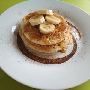 Αφράτα και νηστίσιμα pancakes